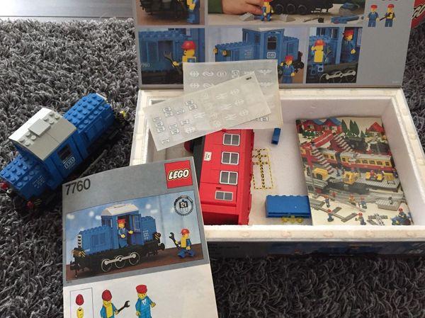 Lego Klassiker Eisenbahn 1970er