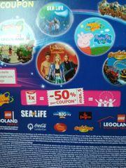 Gutschein 50 Legoland See Life