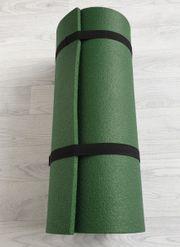 Grüne Sportmatte