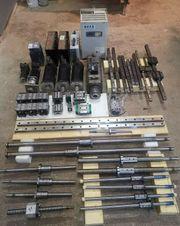 CNC Antriebe- Servomotor- Frässpindel Sk40-