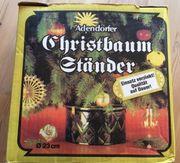 Christbaum- Weihnachtsbaum-Ständer O 23 cm