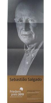 Poster des Friedenspreisträgers Sebastião Salgado