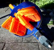 Spielzeugblaster Nerf Hail-Fire zu verschenken