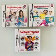 NintendoDS 3er Set Sophies Freunde