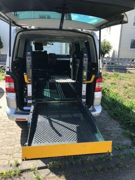 VW Bus, Multivan, Caravelle - Behindertentransporter als VW Multivan