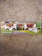 Krankenwagen Holzspielzeug von Eltern empfohlen