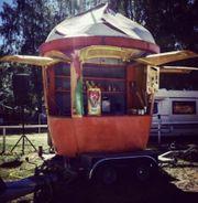 Verkaufsstand Eiswagen Eishänger