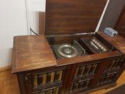Hobby Holztruhe Musikanlage Stereoanlage