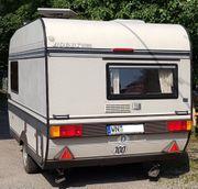 Wohnwagen Hobby 350 mit Vorzelt