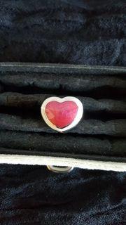 Edelstahl Ring in gr 18