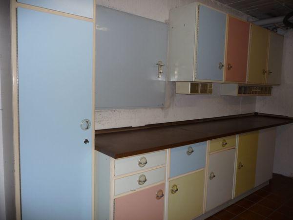 Nette Küchenmöbel aus den 50er