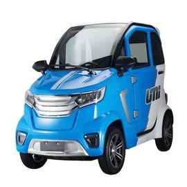 Stormborn X8 AC Elektro-Kabinenfahrzeug - blau/ weiß - 45 km/ h - KLIMA