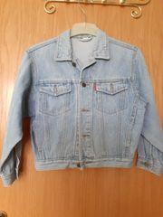 Kinder Jeansjacke zum Knöpfen