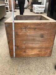 Holzgefäss oder Holztopf leichtes Gewicht