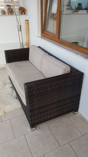 Gartenmöbel Set - Rattan Kunststoff in
