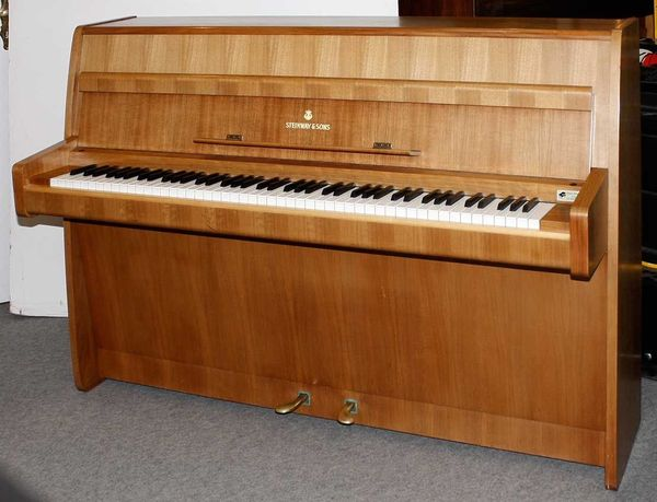 Klavier Steinway Sons F 104