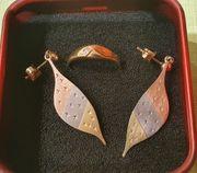 1 Paar Ohrringe u 1