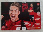 Autogrammkarte Oliver Sorg 1 FC
