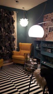 Sessel und Hocker IKEA Strandmon