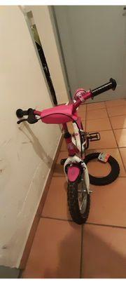 Kinderfahrrad Pink 12 Zoll