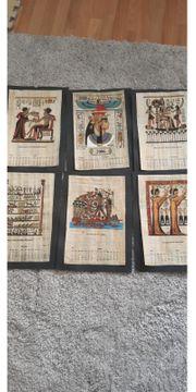 Ägyptische papirus bilder und 1