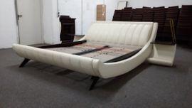 Betten - design echtes Lederbett wie neu