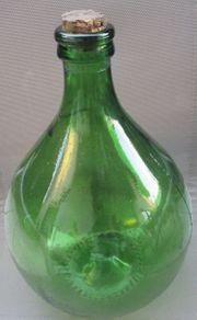 Wein Schnapsballonflasche
