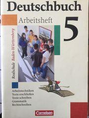 Deutschbuch Arbeitsheft von Cornelsen für