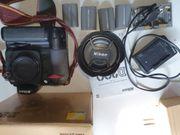 Nikon D200 mit Batteriefach und