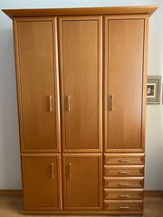 Schrank Wohnzimmer Büro inkl Tresor -