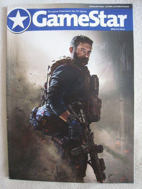 NEU ungelesen Zeitschrift GameStar Juli