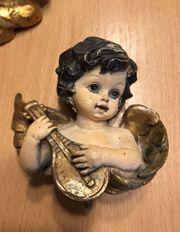 Porzellan Engel alt Putte