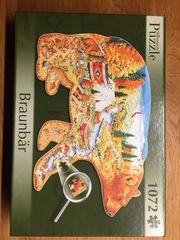 Puzzle -Braunbär 1072 Teile