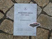 Betirebsanleitung Mercedes 190 SL Roadster