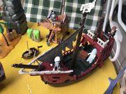 Großes Playmobil Piratenschiff m Leuchtenden