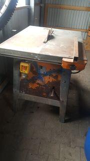 Tischkreissäge brennholzsäge 400V