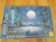 1000 Teile Puzzle Moonlight Splash