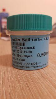 Lötkugeln Lötbälle Solder Balls 0