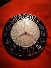 Altes Lkw Mercedes Benz Emblem