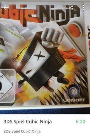 3DS Spiel Cubic Ninja