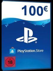 Playstation PSN Network Guthaben 100EUR