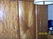 Alter Kleiderschrank masiv Holz Jugendstieldekor