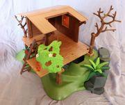 Playmobil Baumhaus mit Förster