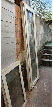 Balkontür und Fenster