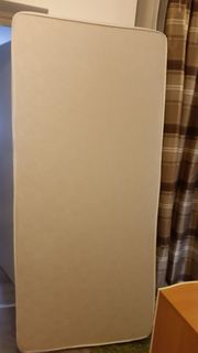 Neuwertige Schaumstoffmatratze 90x200x12 Bezug waschbar