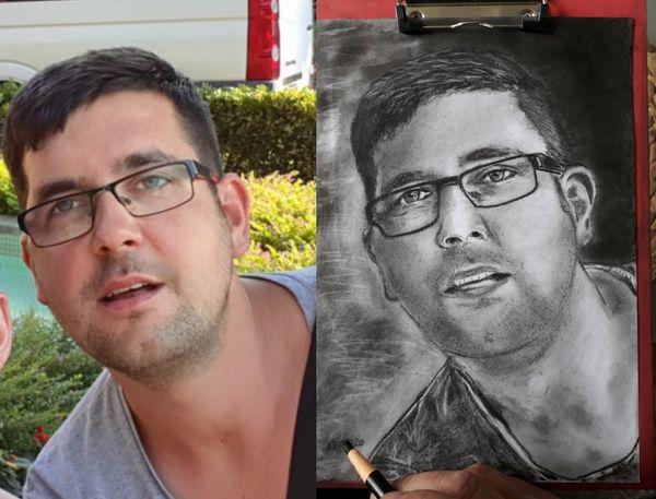 Portraits handgezeichnet für Ihre Lieben