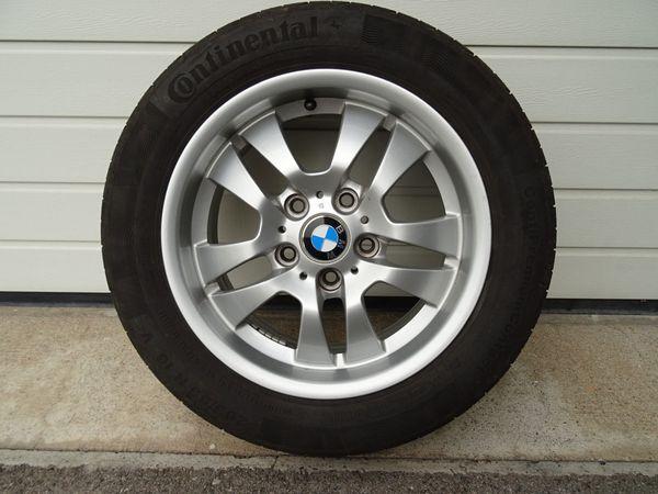 BMW Alu Sommer Kompletträder 16