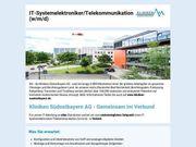 IT-Systemelektroniker Telekommunikation w m d