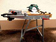 Werk und Maschinentisch Tischkreissäge Bosch