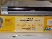 Technisat Digicorder T1 Festplattenrecorder DVB-T1